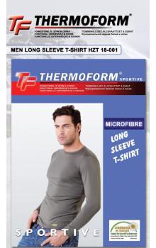 Мужская термофутболка с длинным рукавом MICROFIBRЕ